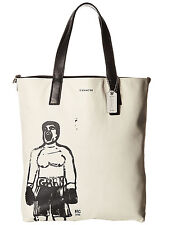 NWT Coach 70611 Hugo Guinness RARE! Large Leather Reversible Boxer Tote