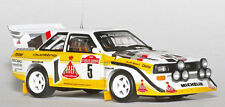 1/10 1985 1986 Audi Sport Quattro S1 RC Body with wings decal for TT01 TT03