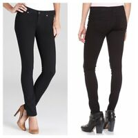Paige Verdugo Ultra Skinny Ankle Jeans in Black Overdye 9223 Size 26