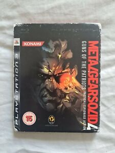 METAL GEAR SOLID 4 GUNS OF THE PATRIOTS Playstation 3 PS3 Game UK PAL VERSION