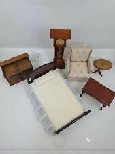Dollhouse Miniature 1/2 Scale  Furniture Lot 6 piece