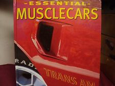 Essential Muscle Cars by Mike Mueller used 160 pages Haedcover book