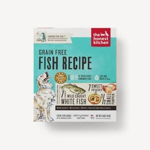 The Honest Kitchen FORCE Grain Free Dehydrated Fish Dog Food - Free Shipping