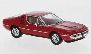 Brekina PCX870073 Alfa Romeo Montreal rot, 1970, H0, Neu 2021