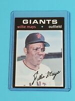 Willie Mays San Francisco Giants 1971 Topps #600 EXMT+
