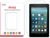 """Dooqi Amazon Fire 7 Tablet with Alexa 7"""" Tempered Glass Screen Protector"""