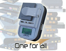UBOC Universal Battery Charger for any Cellphone - PDA - Camera - MP3 Player