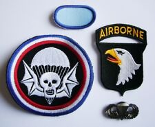 "WWII - 502nd P.I.R ""101st AIRBORNE"" (Set de 4 - Reproductions)"