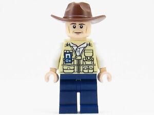 LEGO Jurassic World Vet Veterinarian Minifigure 75919 Park Ranger