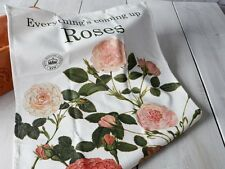 ROYAL BOTANIC GARDENS KEW Coming Up Roses COTTON TEA TOWEL