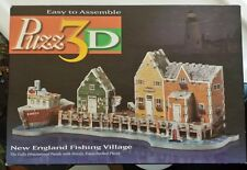 Puzz 3D New England Fishing Village 169 pieces