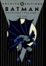 Batman DC Archives Volume 1 Hardcover Reprints Detective Comics 27 to 50