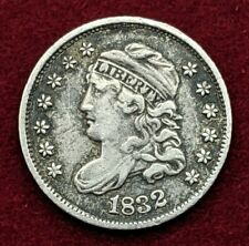 More details for 1832 capped bust half dime silver coin united states