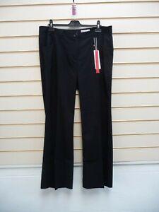 Sheego Women's Trousers Black Size 16  @ Kaleidoscope Smart Tailored  BNWT G050