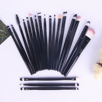 20 Stücke Frauen Make-Up Pinsel Set Puder Foundation Lidschatten Eyeliner OX Y4