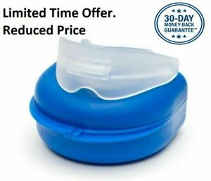 NHS Reducing Snore Stopper Stop Anti Snoring Mouth Guard Apnoea Device Sleep Aid