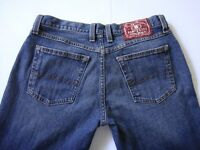 Lucky Brand Women's Jeans By Gene Montesano Mid-Rise Flare Sz 8/29 Blue J053