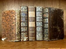 LOT OF OLD BOOKS 1700s - Roman History, Fables, Religion