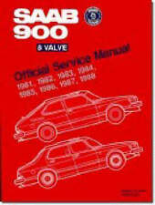Saab 900 8-valve Official Service Manual 1981-88 by Bentley Publishers...