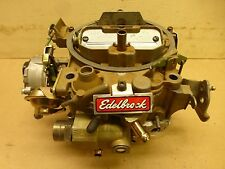 Remanufactured Edelbrock 1904 Rochester Quadrajet Carburetor Chevrolet Very Nice