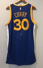 Stephen Curry Signed Warriors REV 30 Authentic Autographed Jersey (FANATICS COA)