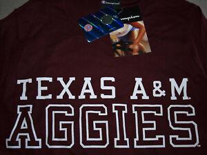 Texas A&M Aggies - Champion Youth Long Sleeve Shirt - Small - Cotton - NWT