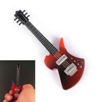 1pc creative guitar shaped jet flame torch cigarette lighter NO GAS EB