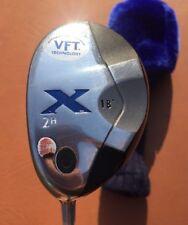 Callaway X Hybrid 2H 18* Mid Torque Graphite Shaft Stiff  Flex VFT Left Handed