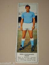 *+ DINO PANZANATO NAPOLI=FIGURINA=1966/67=ALBUM FIGURINE CALCIATORI TEMPO