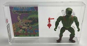 MOTU Vintage Loose Kobra Khan with Comic Series 3 Taiwan 1984 UKG 85%