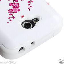 LG OPTIMUS L90 D415 TMOBILE METRO HYBRID T ARMOR CASE SKIN COVER SPRING FLOWERS