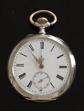 Diana antique solid silver pocket watch c.1900  / montre gousset