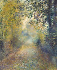 In The Woods Auguste Renoir Wall Art Print on Canvas Painting Repro Small 8x10