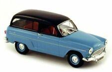 Véhicules miniatures bleus Simca 1:43