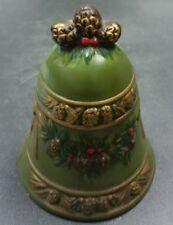 Vintage Napcoware Green Bell Mistletoe Pinecone X-8655 Japan Christmas