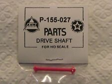 DRIVE SHAFT FOR AHM & RIVAROSSI 4-4-0 NEW P-155-027 IN EASY TO FIND RED COLOR