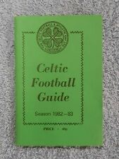 Celtic FC 'Wee Green Book' 1982-83 Football Guide