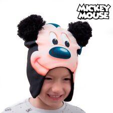 Bonnet Mickey avec protèges-oreilles pour petit garçon - Cadeau enfant disney