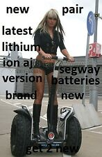Segway X2 I2 i2SE x2SE XT 167 i180 lithium battery PAIR 2017 batteries brand NEW