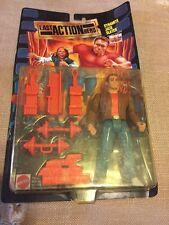 Mattel Dynamite Jack Slater Stunt Figure 1993 Last Action Hero Schwarzenegger