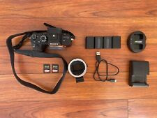 Sony A7R II Mirrorless Camera, Low Shutter Count, Perfect Condition
