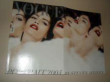 VOGUE MAGAZINE=ITALIA=2004/641=JANUARY=Missy Rayder by Steven Meisel=Portrait=