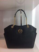 Michael Kors Tasche  JET SET TRAVEL CHAIN LG Black Schwarz Saffiano Taschen BAG