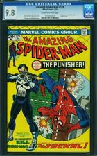 AMAZING SPIDER-MAN #129 CGC 9.8 OWW 1ST APPEARANCE OF THE PUNISHER #0775530001