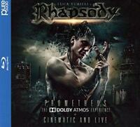 Luca Turilli's Rhapsody - Prometheus : The Dolby Atmos Experie (NEW BLU-RAY+2CD)