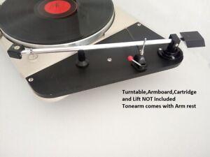 "limited edition -  12""  DECCA FFSS tonearm - with lowest distorsion worldwide"