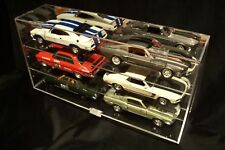 6x 1:18 Wall Mounted Display Case Biante Classic Carlectables Bburago Auto Art