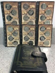 Harry Potter COMPLETE Gringotts 2001 Philosophers Stone Coin Collection FULL SET
