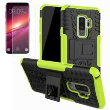 HYBRID COQUE PROTECTRICE 2 pièces Vert pour Samsung Galaxy S9 g960f + TPU