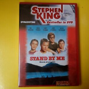 DVD Stephen King Bestseller DeAgostini Stand By Me Nuovo Blisterato